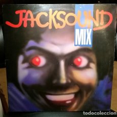 Discos de vinilo: DISCO VINILO 45 MAXI 12 UNKNOWN ARTIST – JACKSOUND MIX GRIND 1987 ESPAÑA G+/VG. Lote 244178215