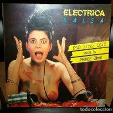 Discos de vinilo: DISCO VINILO 45 MAXI 12 DUB STYLE DISCO FEATURING PRINCE QWAI – ELECTRICA SALSA MAX MUSIC 87 ESPAÑA. Lote 244178465