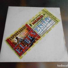 Discos de vinilo: ESPONTANEOS, SG, EL REVENTA, AÑO 1991 PROMO. Lote 244178640