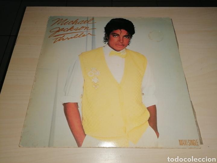 MAXI SINGLE MICHAEL JACKSON - THRILLER (Música - Discos de Vinilo - Maxi Singles - Otros estilos)