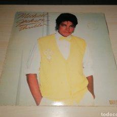 Discos de vinilo: MAXI SINGLE MICHAEL JACKSON - THRILLER. Lote 244185275