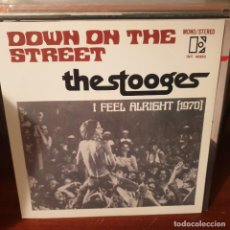 Disques de vinyle: THE STOOGES / DOWN ON THE STREETS / NOT ON LABEL. Lote 244185515