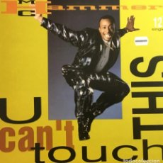 Discos de vinilo: M.C. HAMMER - U CAN´T TOUCH THIS. Lote 244187535