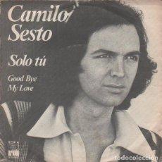 Discos de vinilo: CAMILO SESTO – SOLO TÚ. Lote 244188435