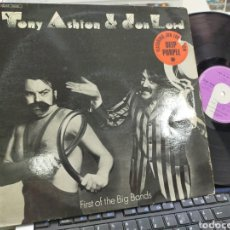 Discos de vinilo: TONY ASHTON & DON LORD LP FIRST OF THE BIG BANDS DEEP PURPLE FRANCIA 1974 ESCUCHADO. Lote 244188740