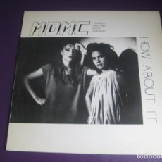 Discos de vinilo: MDMC – HOW ABOUT IT - MAXI SINGLE CFE 1984 - ELECTRONICA DISCO 80'S - NEW WAVE. Lote 244190760