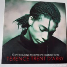 Disques de vinyle: TERENCE TRENT D´ARBY- INTRODUCING THE HARDLINE ACCORDING TO- SPAIN LP 1987 + ENCARTE- NEAR MINT.. Lote 244191530