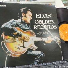 Discos de vinilo: ELVIS' GOLDEN RÉCORDS VOLUME 1 U.K. 1970 EN PERFECTO ESTADO. Lote 244191540