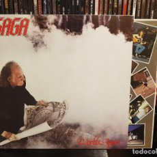 Disques de vinyle: SAGA - WORLDS APART. Lote 244192155