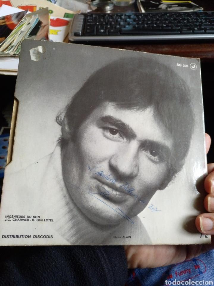 Discos de vinilo: Pascal Daniel. Ton ame. Firmado - Foto 2 - 244192635