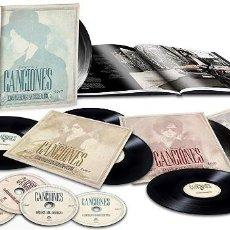 Discos de vinilo: BUNBURY HEROES DEL SILENCIO CANCIONES (4 LPS DOBLES + 4 CDS + LIBRO) [VINILO] ENVIÓ GRATIS. Lote 244193375