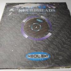 Discos de vinilo: MAXI - KLUBBHEADS – KICKIN' HARD - INSMX 23 (M) ( VG / F) SPAIN 1998. Lote 244194580