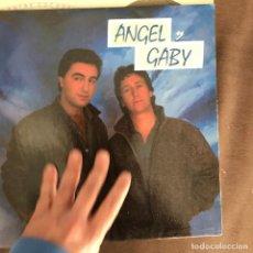 Discos de vinilo: ANGEL Y GABY - VEN AMIGA VEN - 12'' MAXISINGLE MASA 1986. Lote 244200420