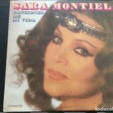 Discos de vinilo: SARA MONTIEL - CANCIONES DE MI VIDA. Lote 244202520