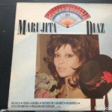 Discos de vinilo: MARUJITA DÍAZ - ANTOLOGÍA DE LA CANCIÓN ESPAÑOLA. Lote 244203415