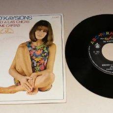 "Discos de vinil: 0221- THE O´KAYSIONS MIRANDO A LAS CHICAS - VIN SINGLE 7"" POR VG DIS VG. Lote 244203490"