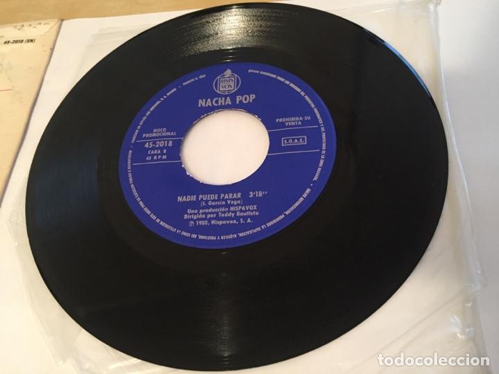 """Discos de vinilo: Nacha Pop - Chica De Ayer - SINGLE PROMO RADIO 7"""" - 1980 HISPAVOX - Foto 5 - 244204405"""