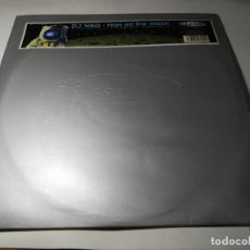 Discos de vinilo: MAXI - DJ WAG – MAN ON THE MOON - VLMX 255 ( VG+ / VG) SPAIN 1999. Lote 244204655