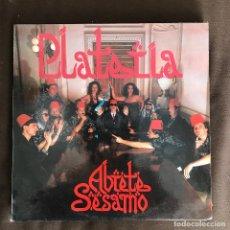 Discos de vinilo: (ORQUESTRA) PLATERÍA - ÁBRETE SÉSAMO - LP PDI 1990. Lote 244256495