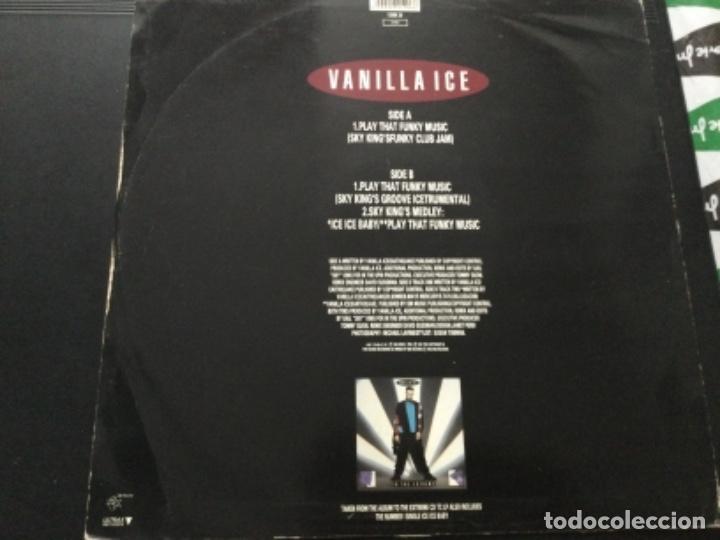 Discos de vinilo: Vanilli ice - play that - funky music - Foto 2 - 244276660