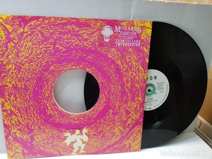 Discos de vinilo: MAXI SINGLE-ZYON-NO FATE- en funda original 1992 - Foto 2 - 244311440