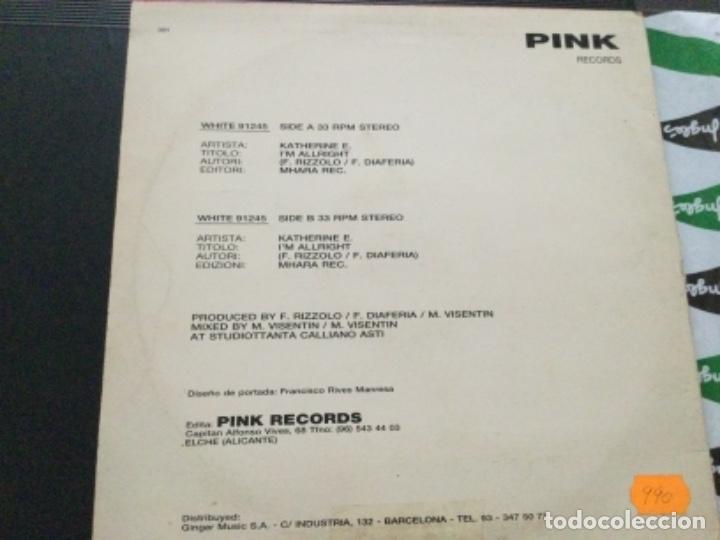 Discos de vinilo: Katherine E. - Im al right - Foto 2 - 244344525