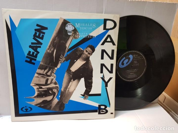 MAXI SINGLE-DANY B-HEAVEN- EN FUNDA ORIGINAL 1992 (Música - Discos de Vinilo - Maxi Singles - Pop - Rock - New Wave Internacional de los 80)