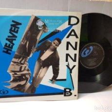 Discos de vinilo: MAXI SINGLE-DANY B-HEAVEN- EN FUNDA ORIGINAL 1992. Lote 244355860