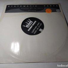 Discos de vinilo: MAXI - SYSTEMATIC PARTS – VIOLIN DE LA NUIT - NONE - LIMITED PROMO ( VG+ / G) GER 1998. Lote 244381545