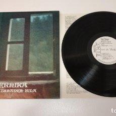Discos de vinilo: 0221- GERNIKA ETORKIZUNAREN - BILA PROMO ES 1978 LP VIN POR VG+ DIS NM. Lote 244398670