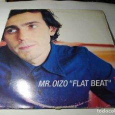 Discos de vinilo: MAXI - MR. OIZO – FLAT BEAT - ND 199 ( VG / G) ITALY 1999. Lote 244398780