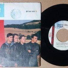 Discos de vinilo: BROTHER BEYOND / DRIVE ON / SINGLE 7 PULGADAS. Lote 244400080