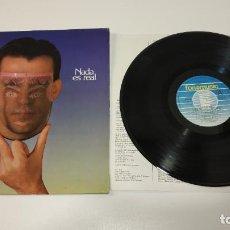 Discos de vinilo: 0221- LUIS PASTOR NADA ES REAL SPAIN 1984 LP VIN POR VG+ DIS VG+. Lote 244400240