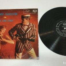 Discos de vinilo: 0221- BAILANDO CHARLESTON CON POPPA JOHN GORDY ES 1959 LP VIN POR G DIS G. Lote 244400820