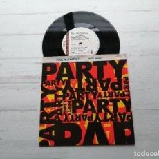 Discos de vinilo: PAUL MCCARTNEY – PARTY PARTY - SINGLE UK 1989 NM/NM. Lote 244404290