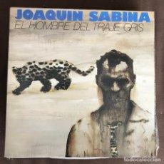 Discos de vinilo: JOAQUÍN SABINA - EL HOMBRE DEL TRAJE GRIS - LP ARIOLA 1988. Lote 244405600