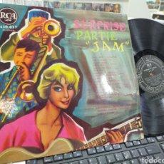 Discos de vinilo: SURPRISE PARTIE JAM LP FRANCIA VER CONTENIDO EN FOTO. Lote 244408080