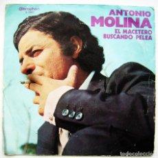 Discos de vinilo: ANTONIO MOLINA. SINGLE.. Lote 244409500