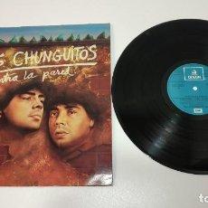 Discos de vinilo: 0221- LOS CHUNGUITOS CONTRA LA PARED SPAIN 1985 LP VIN POR VG DIS VG+. Lote 244410055