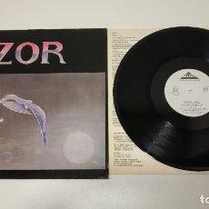 Discos de vinilo: 0221- AZOR LUNA SPAIN 1987 LP VIN POR VG + DIS VG +. Lote 244412010