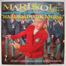 Disques de vinyle: MARISOL, HA LLEGADO UN ÁNGEL. SINGLE.. Lote 244412775