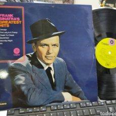 Discos de vinilo: FRANK SINATRA LP GREATEST HITS ESPAÑA 1970 EN MUY BUEN ESTADO. Lote 244415295
