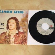 """Discos de vinilo: CAMILO SESTO - Y ... NO / MIÉNTEME - SINGLE RADIO 7"""" - 1977 ARIOLA. Lote 244422620"""