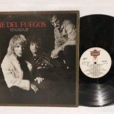 Discos de vinilo: THE DEL FUEGOS STANDUP LP 1987. Lote 244422705