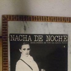 Discos de vinilo: NACHA GUEVARA EN VIVO CON ALBERTO FAVERO - NACHA DE NOCHE. Lote 244422975