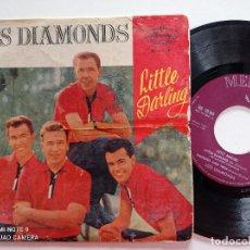Discos de vinilo: LOS DIAMONDS - LITTLE DARLING +3 - EP MERCURY ESPAÑA 1959. Lote 244431545