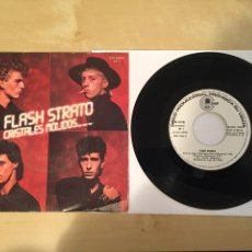 "Disques de vinyle: FLASH STRATO - CRISTALES MOLIDOS - SINGLE PROMO RADIO 7"" - 1982. Lote 244434585"