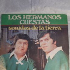 Discos de vinilo: LP LOS HERMANOS CUESTAS SONIDOS DE LA TIERRA MICROFON ARGENTINA 1979. Lote 244435845