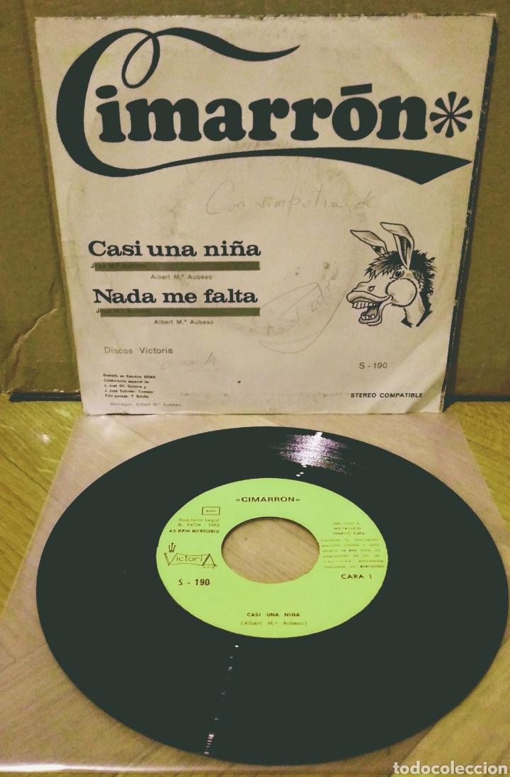 Discos de vinilo: CIMARRON - CASI UNA NIÑA / NADA ME FALTA SG Victoria 1972 - Foto 2 - 244436385