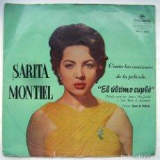 Discos de vinilo: SARA MONTIEL, EL ÚLTIMO CUPLÉ. LP.. Lote 244436660